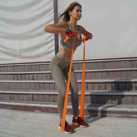 Set Benzi elastice, Resistance Band Set, Power System, Cod: 40073