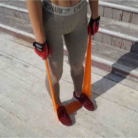 Set Benzi elastice, Resistance Band Set, Power System, Cod: 40078