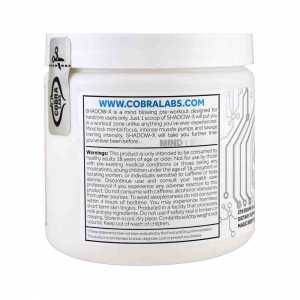Shadow-X Pre-Workout, Cobra Labs, 270g2