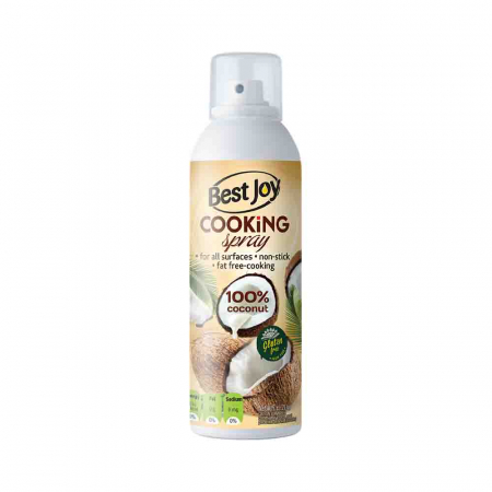 Spray pentru Gatit, Cooking Spray Coconut Oil, Best Joy, 100ml