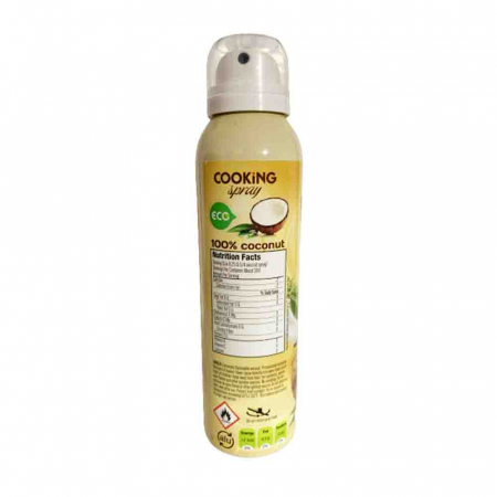 Spray pentru Gatit, Cooking Spray Coconut Oil, Best Joy, 100ml3