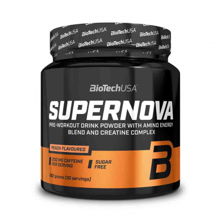 Super Nova Pre-Workout, BiotechUSA, 282g