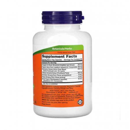 TestoJack 200, Stimulent Hormonal, Now Foods1