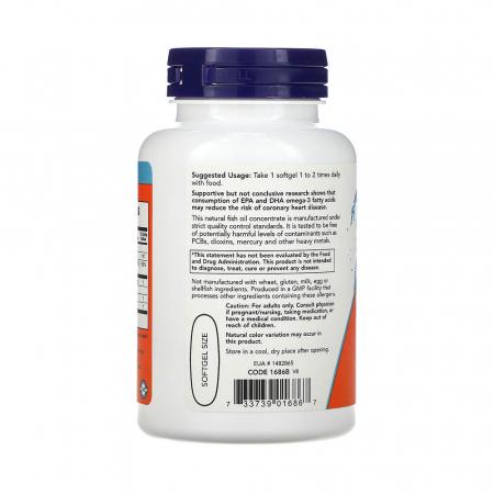 Tri-3D Omega (Trigliceride), Now Foods, 90 softgels2