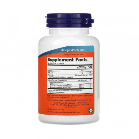 Tri-3D Omega (Trigliceride), Now Foods, 90 softgels1
