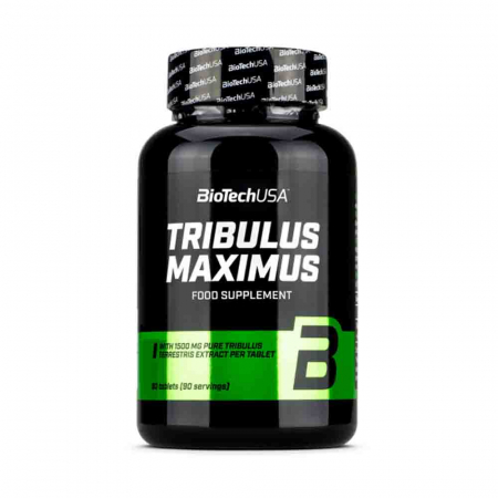 Tribulus Maximus, 1500 mg, BiotechUSA, 90 tablete0