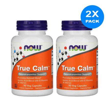 True Calm, Relaxare si Somn usor, Now Foods, 90 capsule2