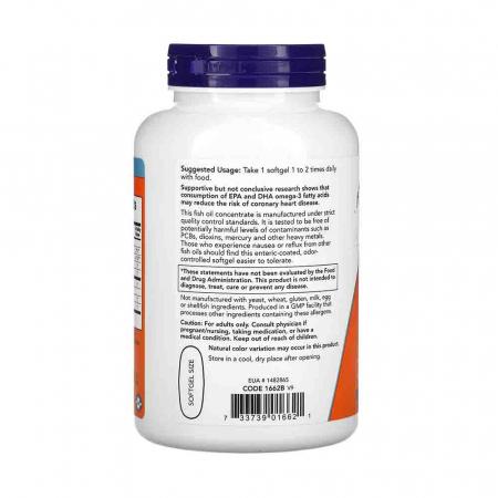 Ultra Omega-3, 500mg EPA / 250mg DHA, Now Foods1