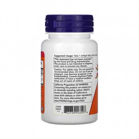Vitamins A&D, 10000/400 IU, Now Foods, 100 softgels1