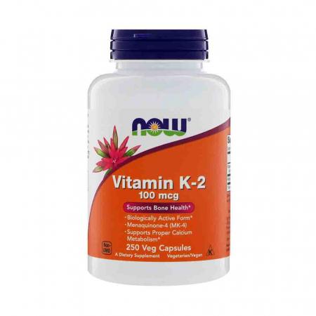 Vitamin K-2, MK-4, 100 mcg, Now Foods0