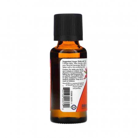 Vitamine Lichide D-3 & MK-7, Now Foods, 30ml1