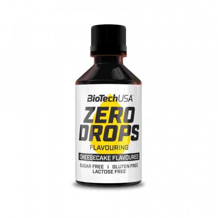 Zero Drops (Indulcitor), BiotechUSA, 50ml0