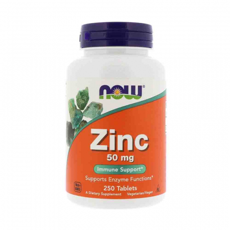 Zinc (Mineral), 50mg, Now Foods0