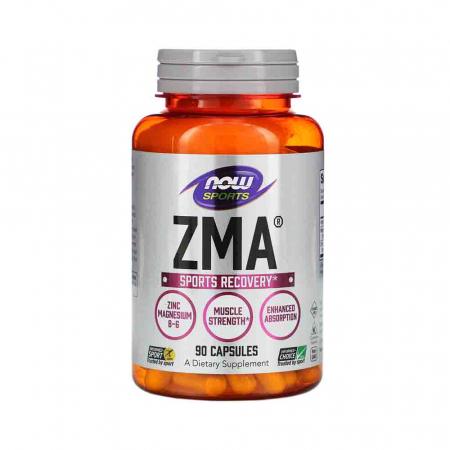 ZMA Sports Recovery (zinc magneziu si B6) Now Foods0