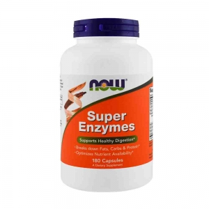 Super Enzymes, Now Foods, 180 capsule0