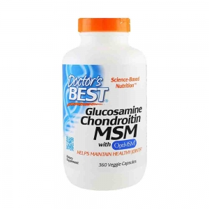 Glucozamina Condroitina si MSM, Best Doctors, 360 capsule0