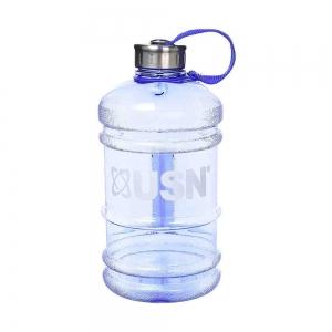 Bidon hidratare, USN, 2200ml transparent albastru