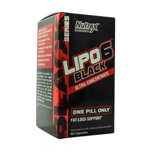 Lipo-6 Black Ultra Concentrate, Nutrex Research, 60 capsule0