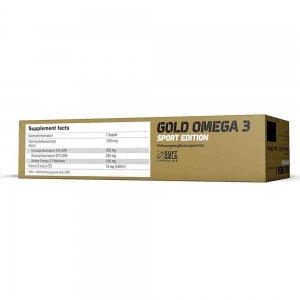 Gold Omega 3, Sport Edition, Olimp, 120 caps