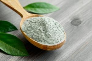 Argila verde pentru uz extern - pulbere fina 1 kg