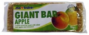 Baton din ovaz cu mere si scortisoara Ma Baker 90 g