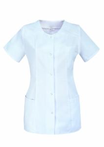 Bluza medicala alba
