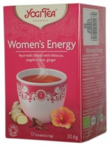 Ceai Bio ENERGIE PENTRU FEMEI Yogi Tea, 30.6g