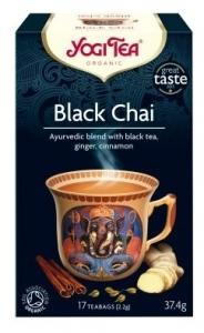 Ceai Bio NEGRU Yogi Tea, 37.4 g