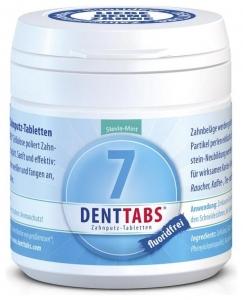 Tablete pentru curatarea dintilor cu menta si stevie, fara fluor–125 tablete
