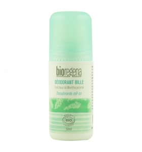 Deodorant roll-on cu menta, Bioregena, bio, 50 ml