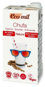 bautura vegetala bio din migdale de pamant Chufa, fara zahar, 1L