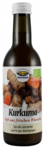 Govinda - Suc Bio din Curcuma, 250ml