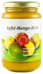 Green Organics - Piure BIO din pulpa de mere si mango–360g