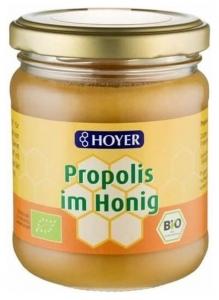 Hoyer- Miere bio cu propolis, 250 g