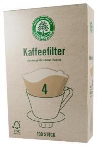 Filtre pentru cafea, Gr. 4, 100 bucati