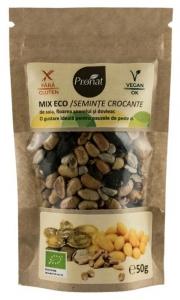 Mix seminte Bio crocante, 50 g