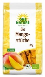 Mango bucati uscate bio, 100g