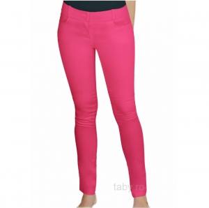 Pantaloni medicali Slimfit roz inchis