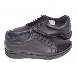 Pantofi casual confortabili dama 79 Negru3