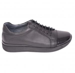 Pantofi casual confortabili dama 79 Negru0