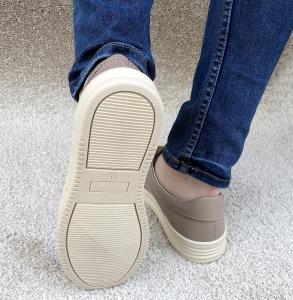 Pantofi casual dama 521 Nude3