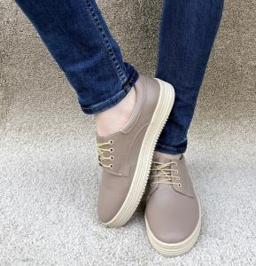 Pantofi casual dama 521 Nude2