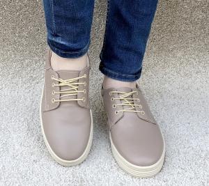 Pantofi casual dama 521 Nude1