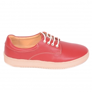 Pantofi casual dama 521 Rosu0