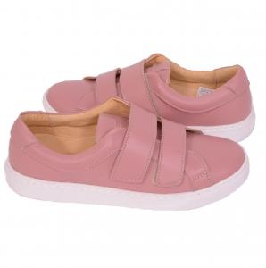 Pantofi piele naturala, CONFORT+ 550 Roz2
