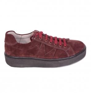 Pantofi casual dama 556 Bordo0