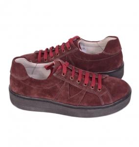 Pantofi casual dama 556 Bordo3