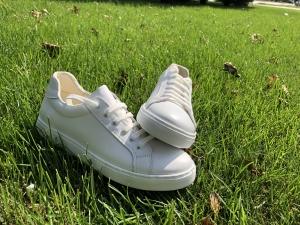Pantofi casual dama 564 Alb2
