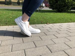Pantofi casual dama 564 Alb1