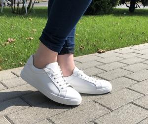 Pantofi casual dama 564 Alb0